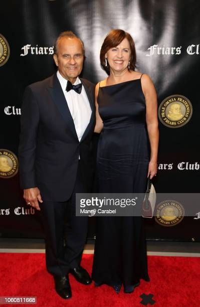 Joe Torre and Alice Wolterman attend the Friar's Club Honors Billy Crystal with their Entertainment Icon Award at The Ziegfeld Ballroom on November...