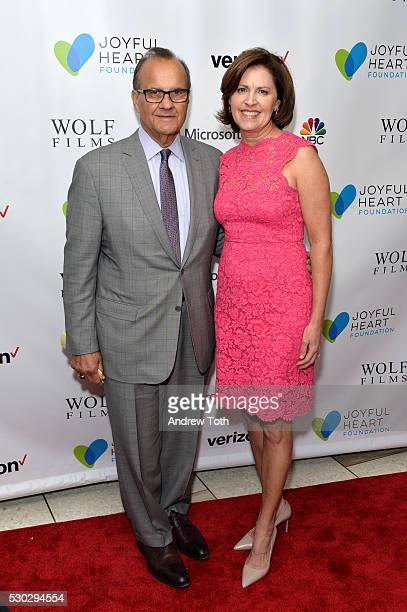 Joe Torre and Alice Wolterman attend the Joyful Heart Foundation honors Vice President Joe Biden at Joyful Revolution Gala on May 10 2016 in New York...