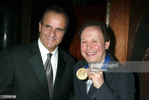 Joe Torre and Billy Crystal during The Actors Fund There's No Business Like Show Business Gala at Cipriani 42nd Street in New York City New York...