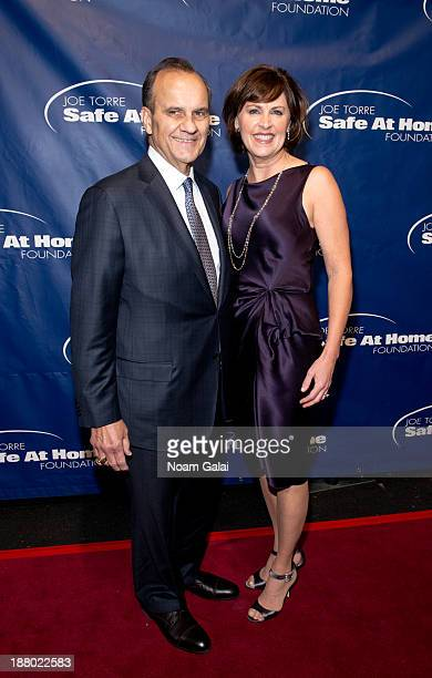 Joe Torre and wife Alice Wolterman attend the 11th Anniversary Joe Torre Safe At Home Foundation Gala at Pier Sixty at Chelsea Piers on November 14...