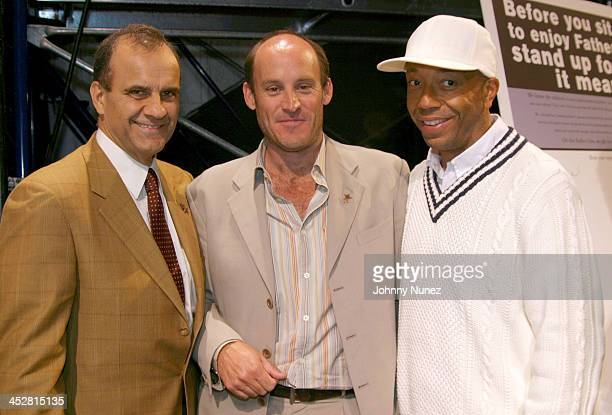 Joe Torre, manager of the New York Yankees, Ted Waitt, founder of Gateway and Russell Simmons, CEO of Phat Farm