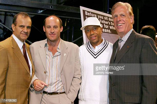 Joe Torre, manager of the New York Yankees, Ted Waitt, founder of Gateway, Russell Simmons, CEO of Phat Farm and Paul Charrow, CEO of Liz Claiborne