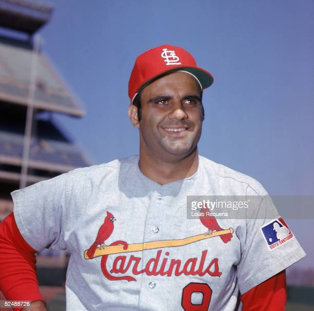 Joe Torre of the St Louis Cardinals poses for a portrait Torre played for the Cardinals from 196974