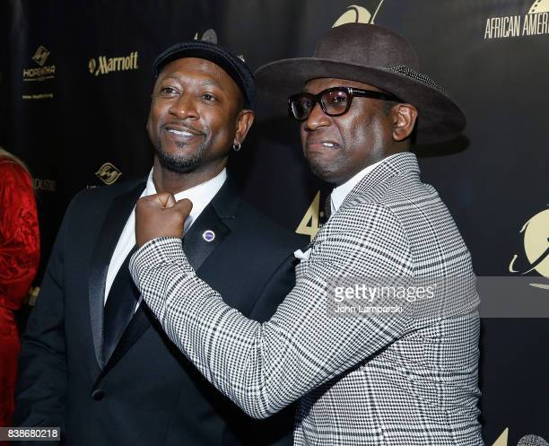 Joe Torry and Guy Torry attend the 2017 LOL Comedy Honors Awards Show at Alhambra Ballroom on August 24 2017 in the of New York City