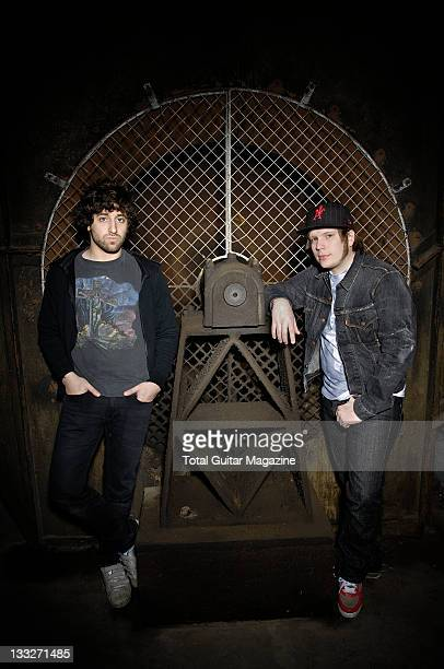 Joe Trohman and Patrick Stump from Fall Out Boy April 2 2007