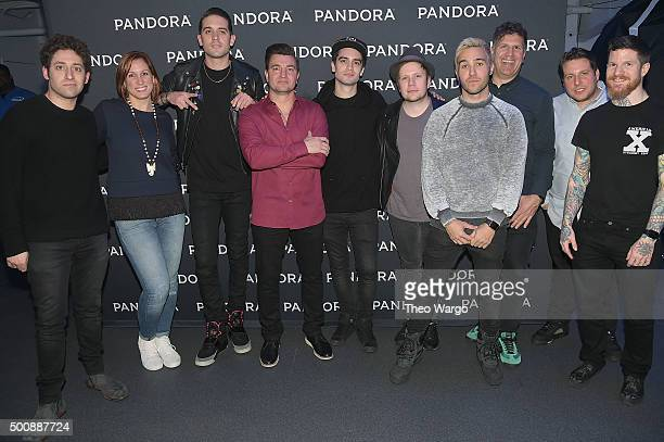 Joe Trohman Senior Director of Events at Pandora Nicole CarboneRogers musician GEazy VP of Industry Relations and Strategy at Pandora Jeff Zuchowski...