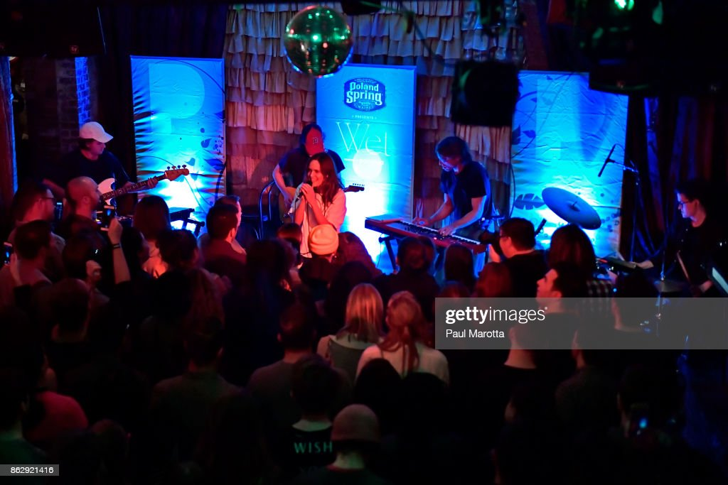 Poland Spring Presents Wet Powered By Pandora : News Photo