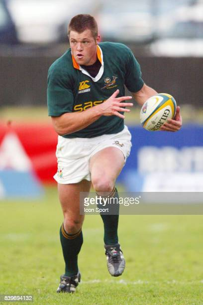 Joe VAN NIEKERK Afrique du Sud / Australie TriNations