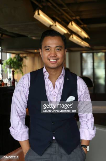 Joe Villanueva poses for a photograph at Red Sugar in Kerry hotel Hung Hom bay Kowloon 10AUG17 SCMP / Xiaomei Chen [FEATURES]#10#10