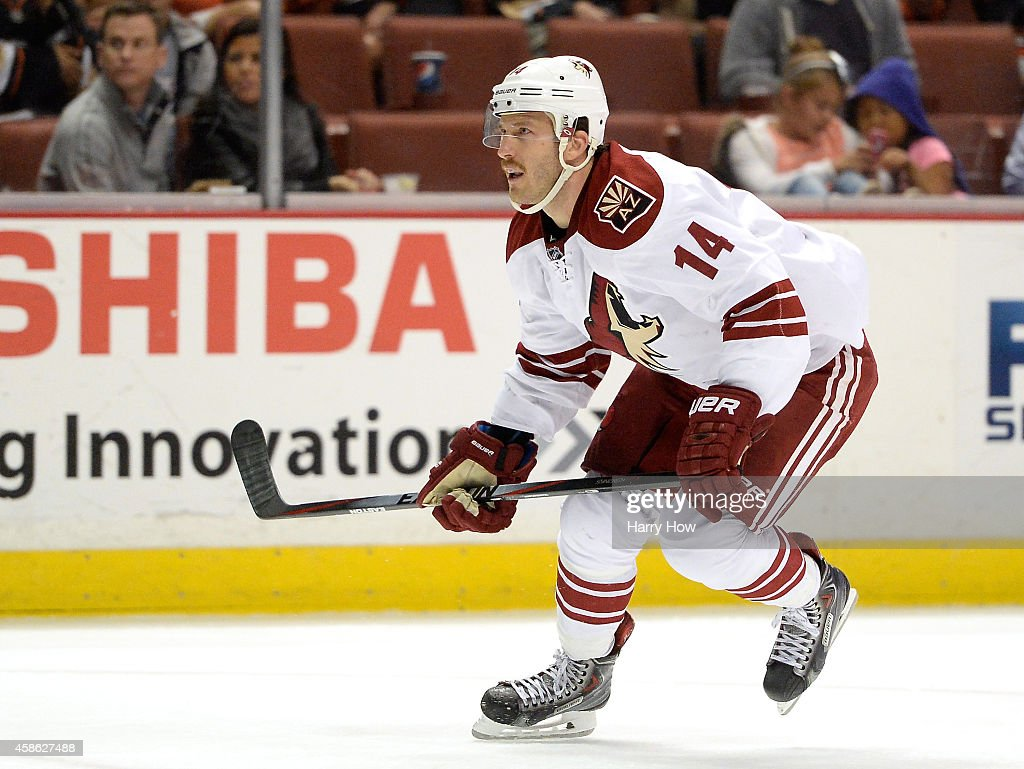 Arizona Coyotes v Anaheim Ducks : News Photo