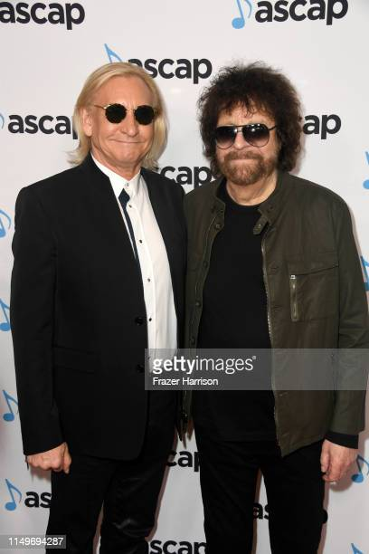 Joe Walsh and Jeff Lynne attend the 36th annual ASCAP Pop Music Awards at The Beverly Hilton Hotel on May 16 2019 in Beverly Hills California