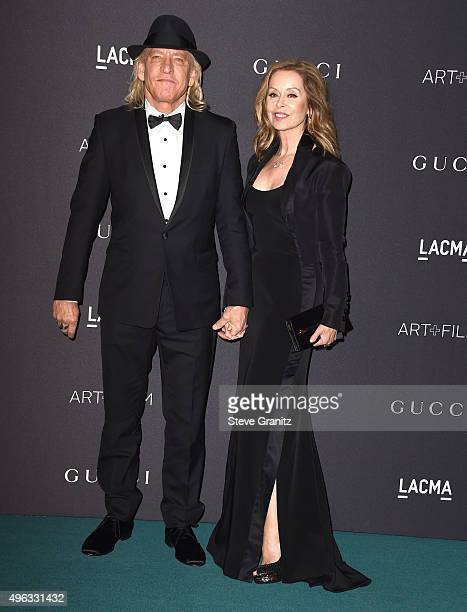 Joe Walsh and Marjorie Bach arrive at the LACMA 2015 ArtFilm Gala Honoring James Turrell And Alejandro G Inarritu Presented By Gucci at LACMA on...