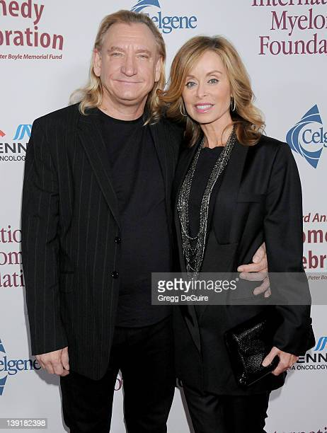 Joe Walsh and wife Marjorie Bach arrive at the 3rd Annual Comedy Celebration For The Peter Boyle Memorial Fund at the Wilshire Ebell Theatre and Club...