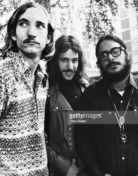 Joe Walsh Dale Peters and Jim Fox of the James Gang 1971