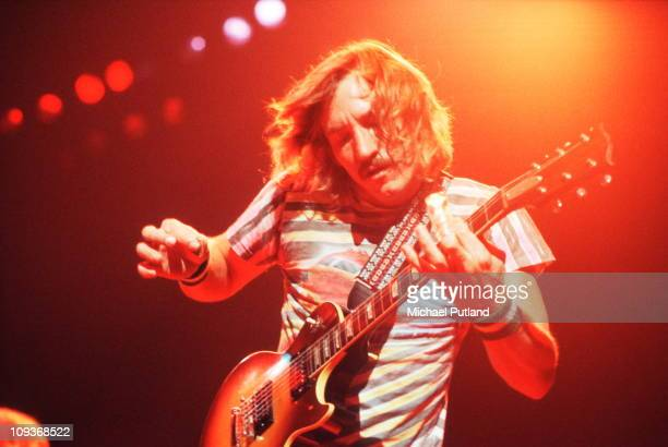 Joe Walsh of The Eagles performs live on stage New York October 1979