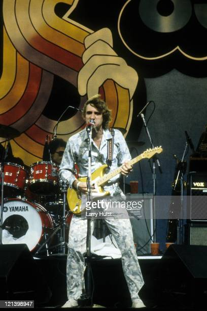 Joe Walsh performs at the US Festival in Devore California on May 30 1983
