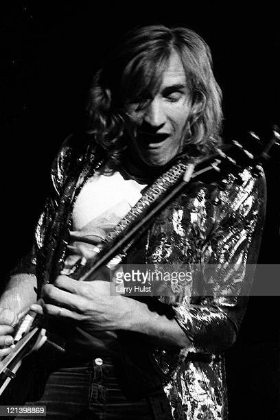 Joe Walsh performs with 'Barnstorm'at Winterland arena in San Francisco California on December 29 1973