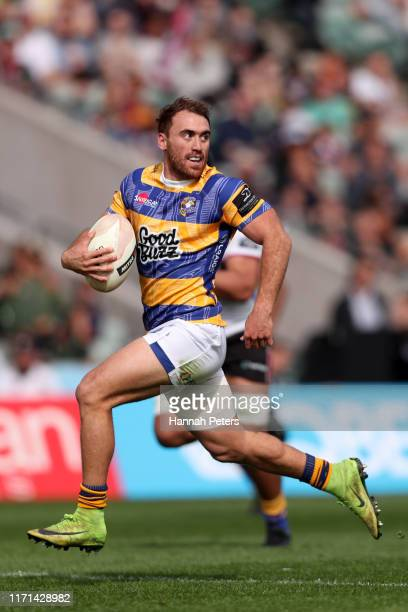 Joe Webber of Bay of Plenty makes a break during the round 4 Mitre 10 Cup match between North Harbour and Bay of Plenty at North Harbour Stadium on...
