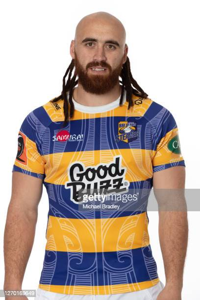 Joe Webber poses during a Bay of Plenty Steamers headshots session on September 01, 2020 in Napier, New Zealand.
