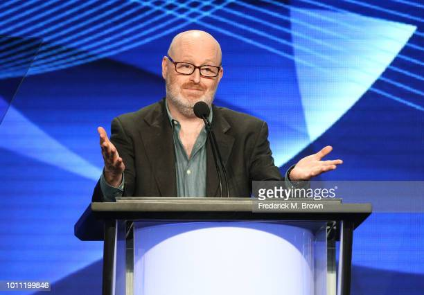 Joe Weisberg accepts the Program of the Year award for The Americans onstage during the 34th Annual Television Critics Association Awards during the...