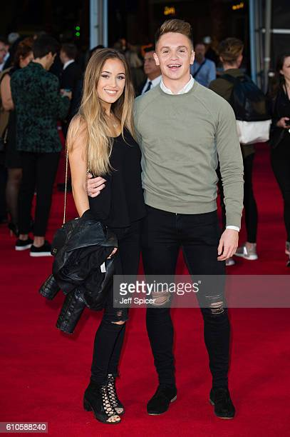 Joe Weller attends the Laid In America World Premiere at Cineworld 02 Arena on September 26 2016 in London England