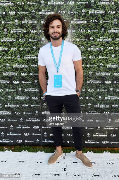 Joe Wicks attends Barclaycard presents British Summer Time at Hyde Park on July 2 2017 in London England