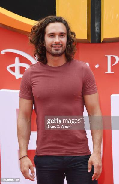 Joe Wicks attends the 'Incredibles 2' UK premiere at BFI Southbank on July 8 2018 in London England