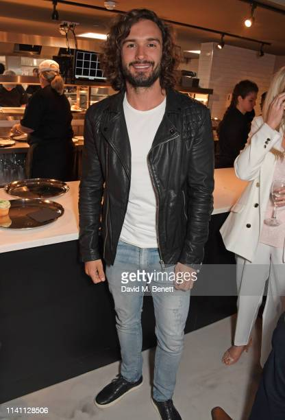 Joe Wicks attends the launch of Wahlburgers UK debut restaurant on May 4 2019 in London England