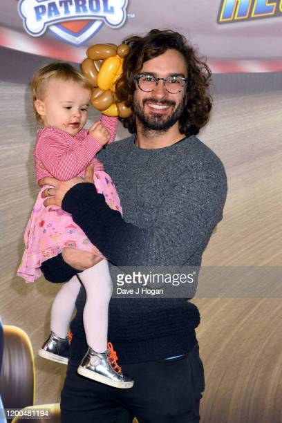 """Joe Wicks attends the """"Paw Patrol"""" gala screening at Cineworld Leicester Square on January 19, 2020 in London, England."""