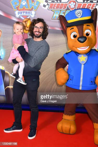 Joe Wicks attends the Paw Patrol gala screening at Cineworld Leicester Square on January 19 2020 in London England