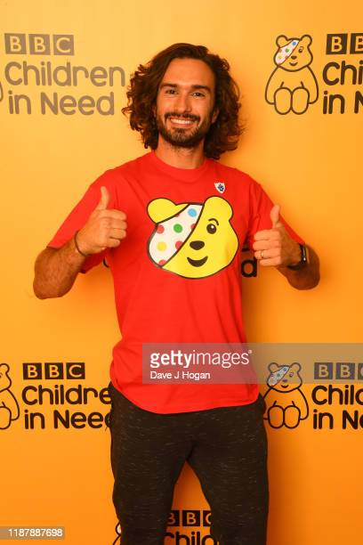 Joe Wicks backstage at BBC Children in Need's 2019 Appeal night at Elstree Studios on November 15 2019 in Borehamwood England
