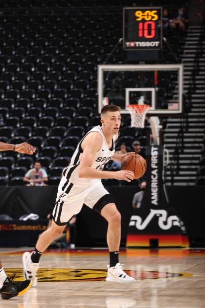 UT: 2021 Salt Lake City Summer League: San Antonio Spurs v Utah Jazz Blue
