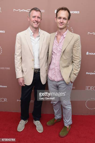 Joe Williamson and Dale Saylor attend the Housing Works Ground Breaker Awards Dinner on April 26 2017 in New York City