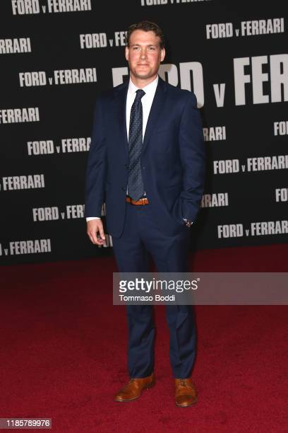 Joe Williamson attends the Premiere Of FOX's Ford V Ferrari at TCL Chinese Theatre on November 04 2019 in Hollywood California