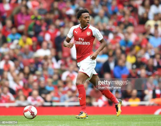 Joe Willock of Arsenal during the Emirates Cup match between Arsenal and Seville at Emirates Stadium on July 30 2017 in London England