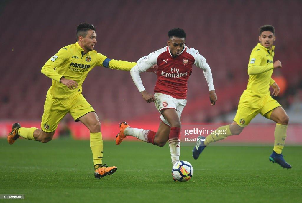 Arsenal U23 v Villarreal U23 - Premier League International Trophy