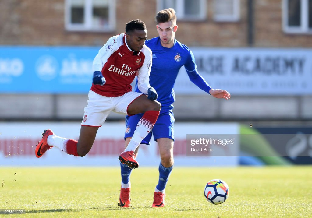 Arsenal U23 v Dinamo Zagreb U23s: Premier League International Cup