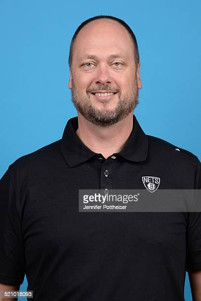 Joe Wolf of the Brooklyn Nets poses for a portrait during media day on September 26 2014 at the PNY Center in East Rutherford New Jersey NOTE TO USER...