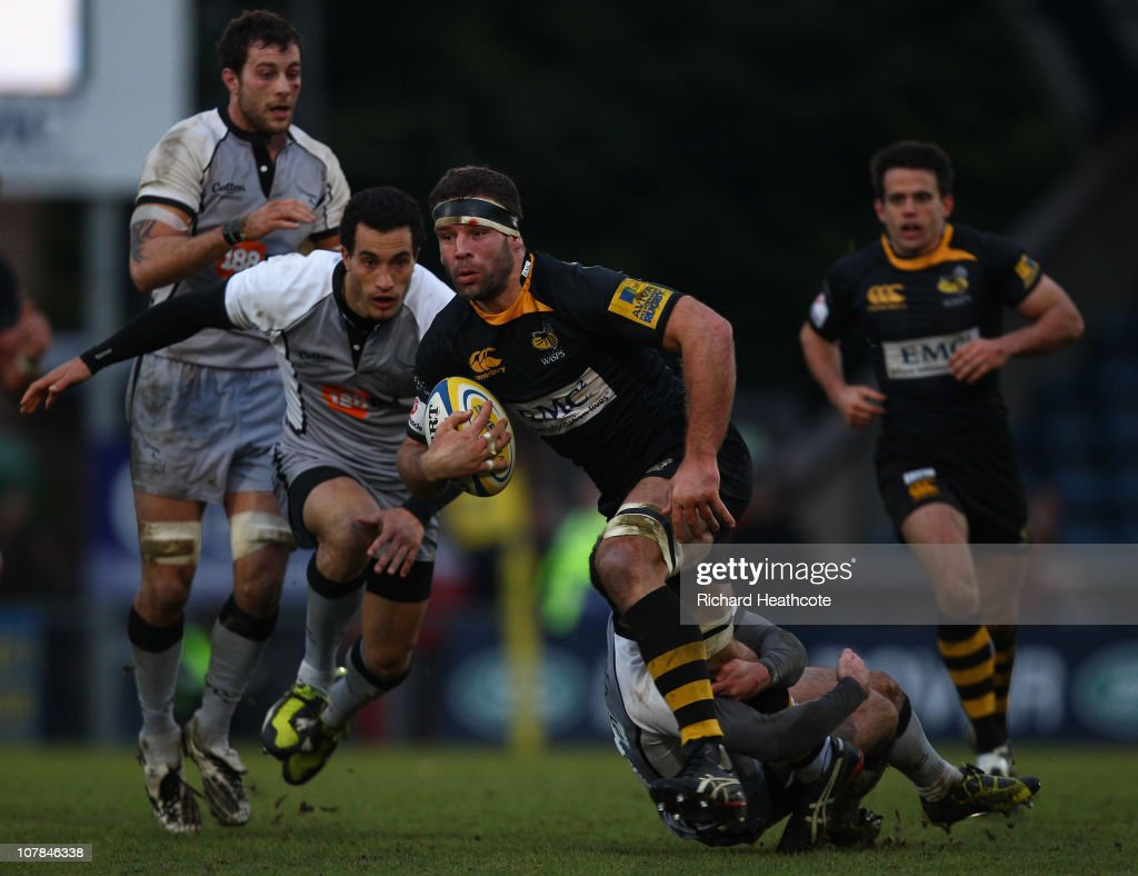 London Wasps v Newcastle Falcons - AVIVA Premiership