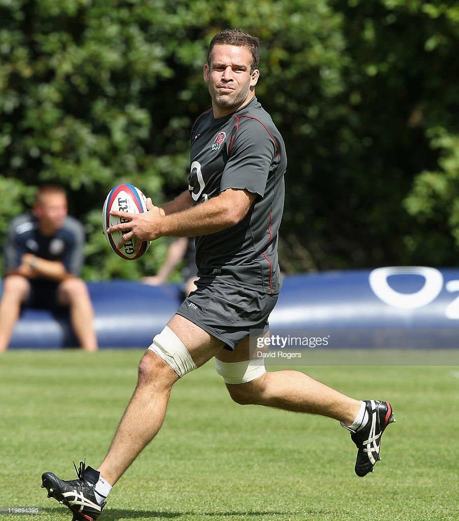England Rugby Union Training Session