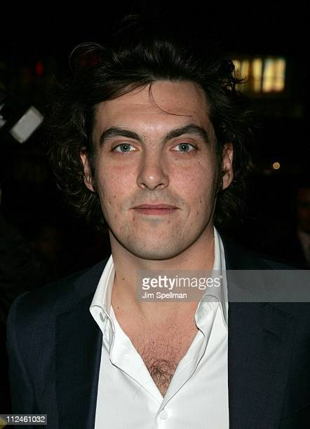 Joe Wright director during Pride and Prejudice New York Premiere Outside Arrivals at Loews Lincoln Center in New York City New York