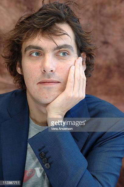 Joe Wright director during Pride and Prejudice Press Conference with Donald Sutherland Rosamund Pyke Matthew McFadyen Brenda Blethyn and Joe Wright...
