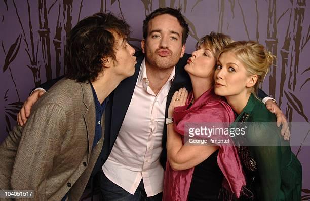 Joe Wright director Matthew MacFadyen Brenda Blethyn and Rosamund Pike