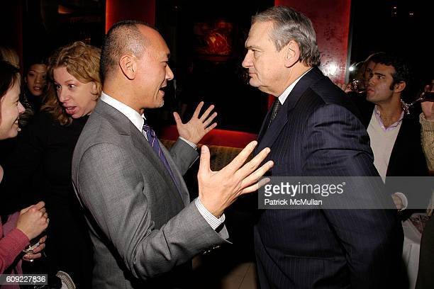 Joe Zee and Jack Kliger attend ELLE Magazine and ROBBIE MYERS Host a Party to Welcome JOE ZEE as the new Creative Director of ELLE at DB Bistro...