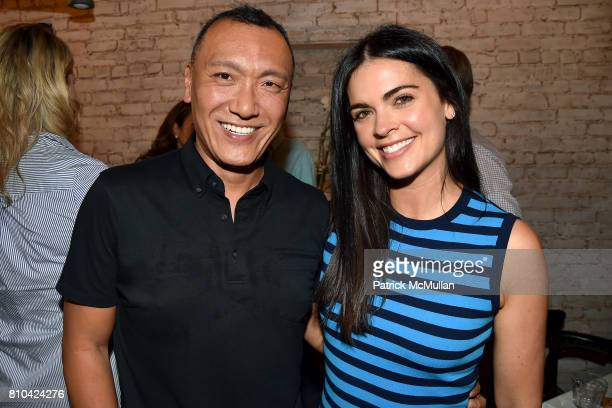 Joe Zee and Katie Lee attend eBay Hosts July 4th Benefit for Sag Harbor Cinema Restoration Project at Lulu Kitchen and Bar on July 3 2017 in Sag...