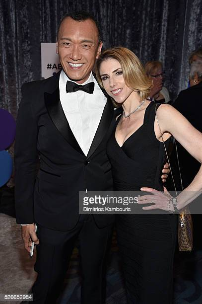 Joe Zee and Megan Liberman attend the Yahoo News/ABC News White House Correspondents' Dinner PreParty at Washington Hilton on April 30 2016 in...