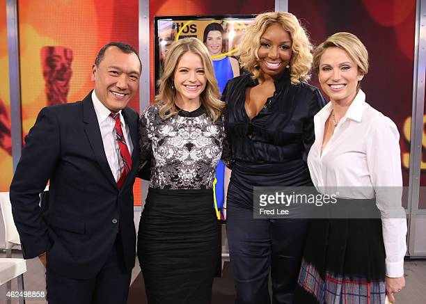 """Joe Zee and Nene Leakes are guests on """"Good Morning America,"""" 1/26/15, airing on the Walt Disney Television via Getty Images Television Network."""