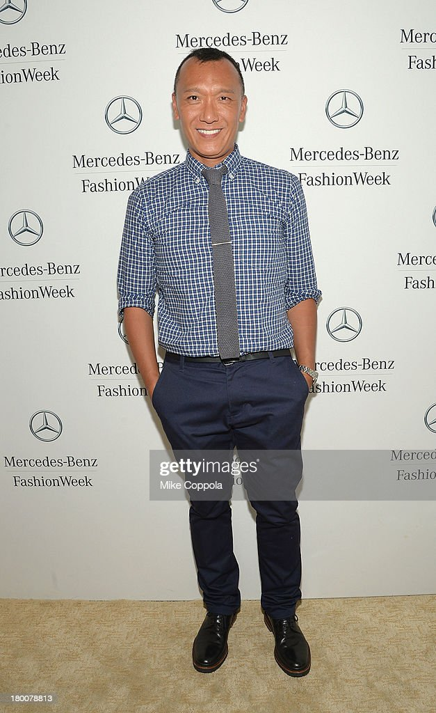 Joe Zee attends the Mercedes-Benz Star Lounge during Mercedes-Benz Fashion Week Spring 2014 on September 8, 2013 in New York City.