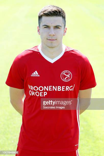 Joedrick Pupe of Almere City during the Photocall Almere City at the Yanmar Stadium on July 16 2018 in Almere Netherlands
