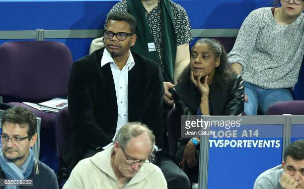 Joel Abati attends day 6 of the Open Sud de France an ATP Tour 250 tournament at Arena Montpellier on February 11 2017 in Montpellier France